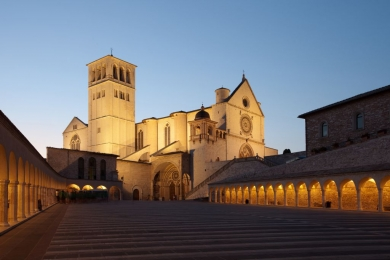The Hill Towns of Cortona & Assisi