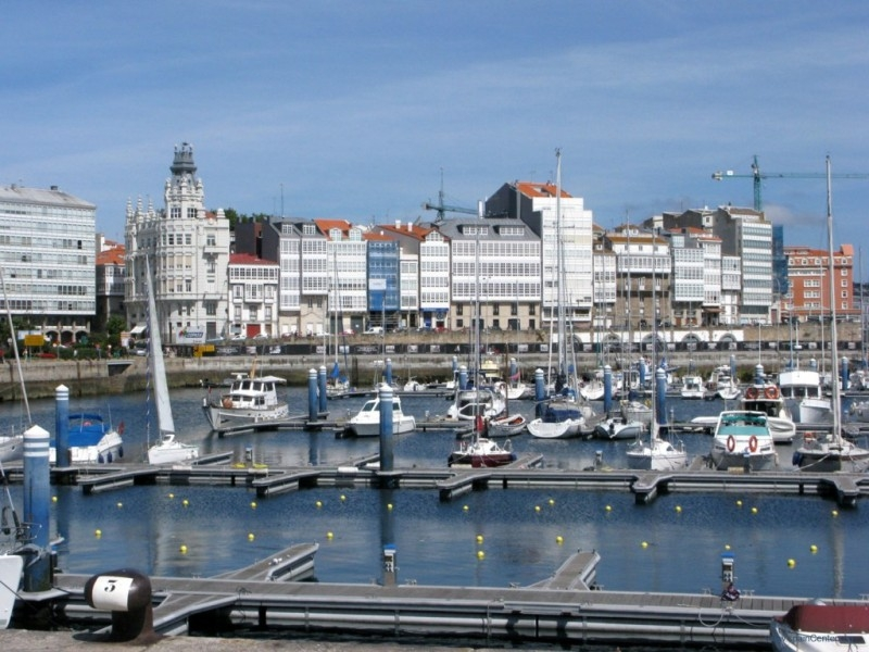La Coruna Walking Tour